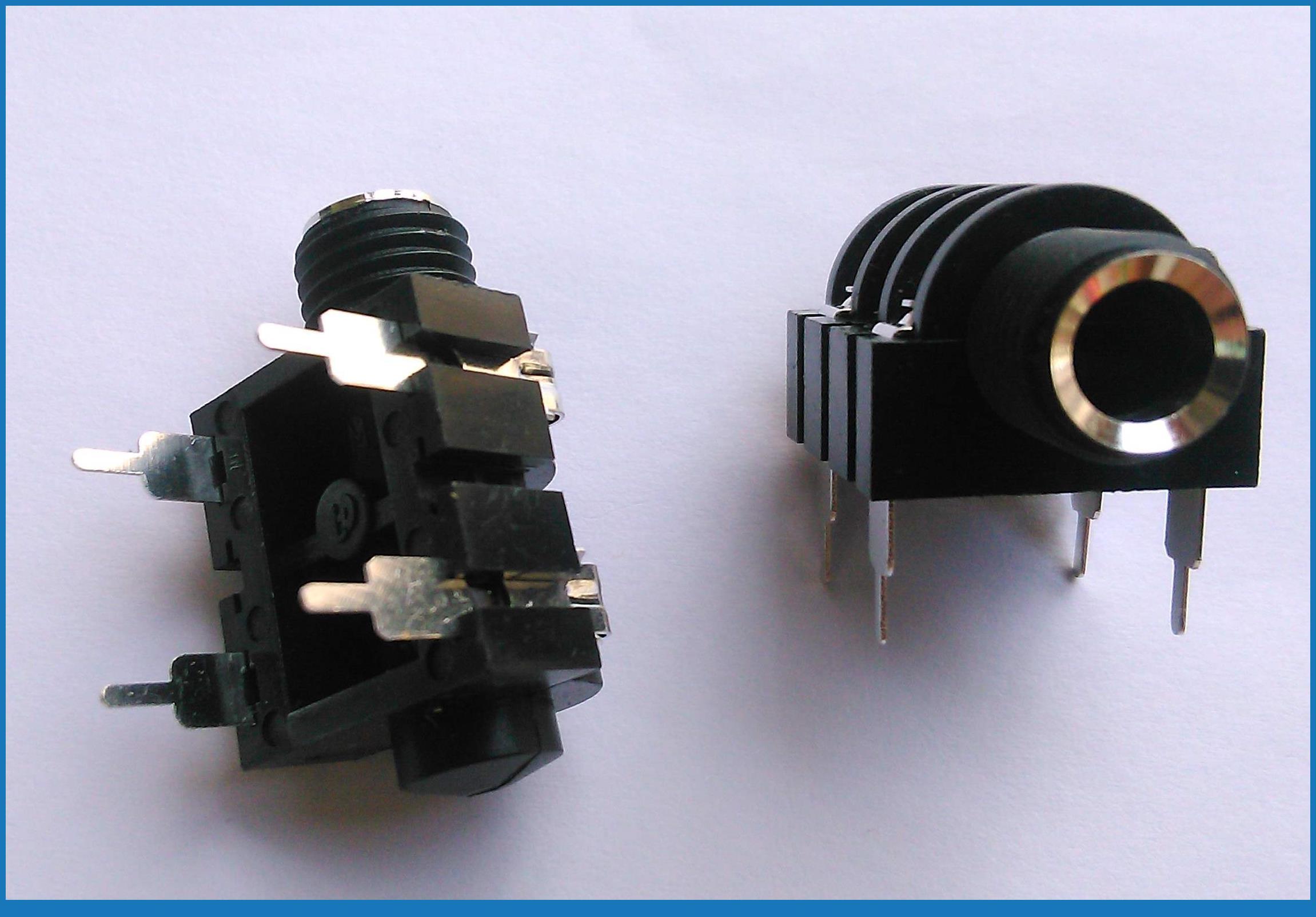 medium resolution of 10pcs 6 35mm mono headphone jack microphone 1 4 panel wiring socket amplifiers 1 4 6 35mm mono jack socket panel in connectors from lights lighting on