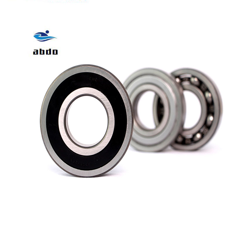 2pcs of 6001-2RS Wheel Ball Chrome Metal Steel Bearing Rubber Sealed 6001RS