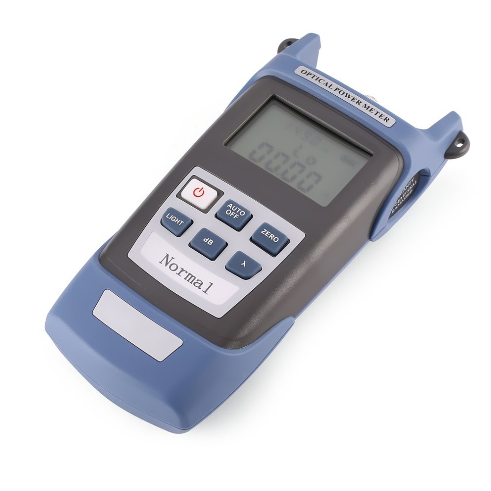 Handheld FTTH Fiber Optic Light Power Meter Fiber Optical Cable Tester Networks FC/SC Connectors -70~+20dBm