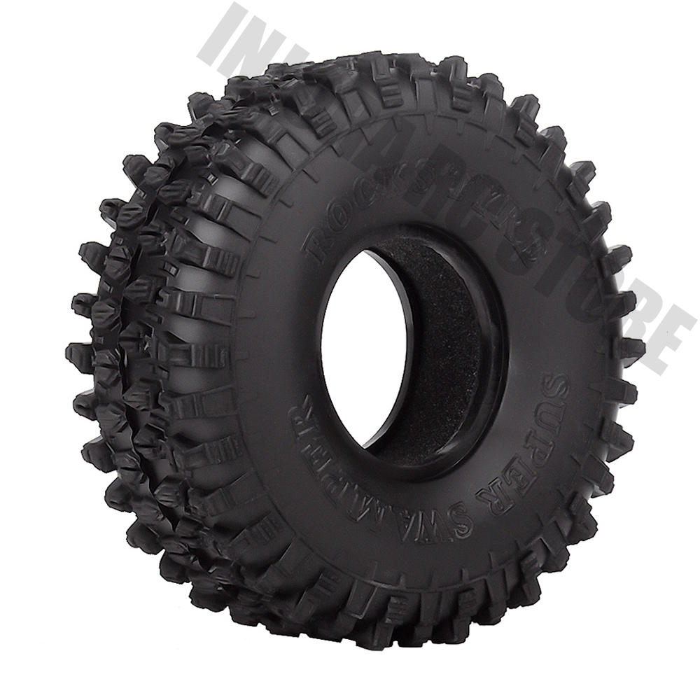 """4PCS/Set 120MM 1.9"""" Rubber Wheel Tires 1/10 RC Crawler Car for Traxxas TRX 4 Axial SCX10 90047 D90 D110 TF2-in Parts & Accessories from Toys & Hobbies"""