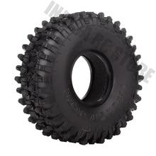 """4PCS/Set 120MM 1.9"""" Rubber Wheel Tires 1/10 RC Crawler Car for Traxxas TRX 4 Axial SCX10 90047 AXI03007 D90 D110 TF2"""