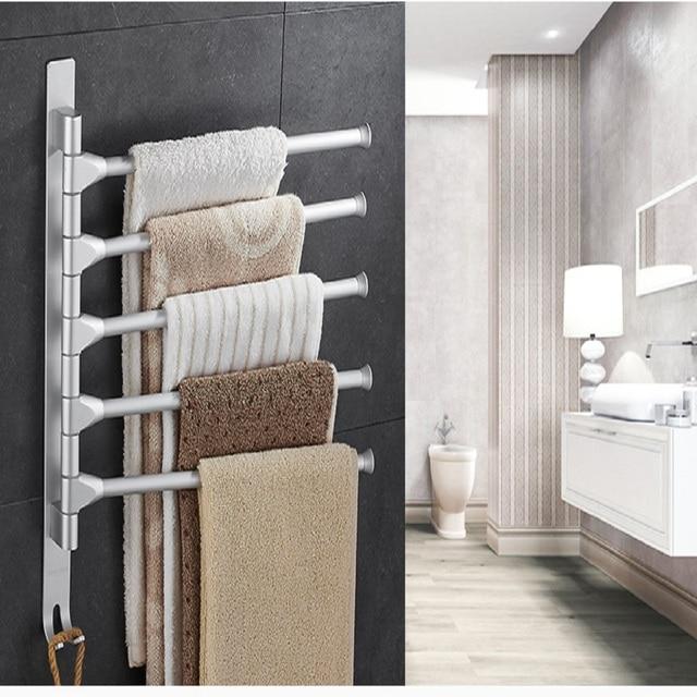 30 cm Handdoekenrek Multi Armen Handdoek Opknoping met Haken ...