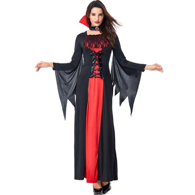 Sexy Women Vampire Costume Halloween Adult Party Cosplay Clothing
