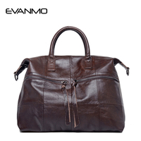 Bags For Women 100 Genuine Leather Handbags 2016 Famous Brand Tassel Tote Bag High Capacity Simply
