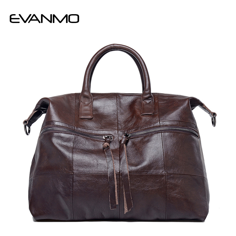 Фотография Women 100% Genuine Leather Handbags Soft Natural Skin Daily Bag High-capacity Top Grade women Shoulder bags High Quality Handbag