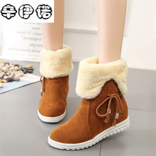 Free transport 2017 New Shoes Women Boots Designer Ladies Winter out of doors maintain Warm Fur Boots Dual-use Women's Snow Boots
