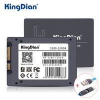 KingDian SSD 120GB S280 3 Years Warranty SATA3 2 5 Inch Hard Drive Disk 120GB HD