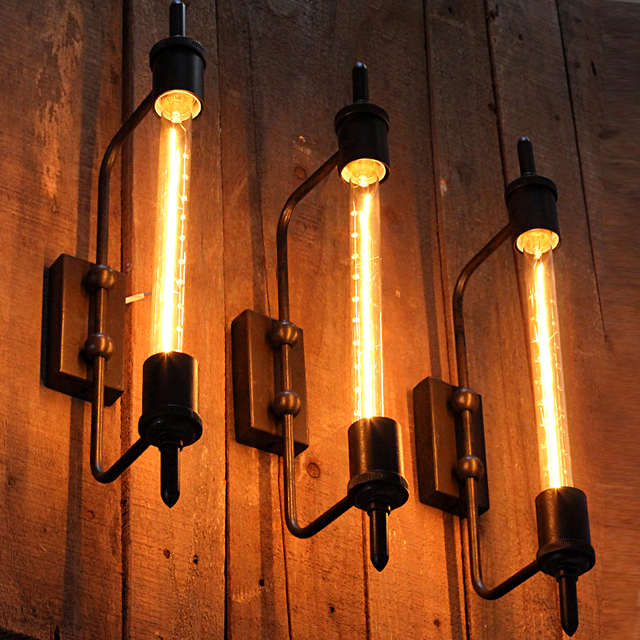 American industrial vintage wall lights fixture cafes pub bar clubs american industrial vintage wall lights fixture cafes pub bar clubs coffee shop wall lamps dining room aloadofball Gallery