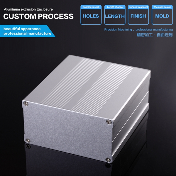 YGS-010 106*55-100mm (WxH-D) design case box electronic extrusion aluminum metal electrical enclosures венарус таб п о 450мг 50мг n60
