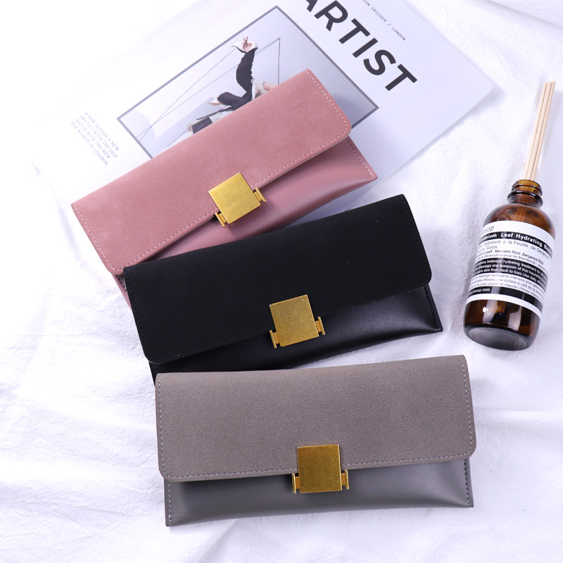 Luxury Clutch Slim Wallets Women Coin Purses PU Leather Brand Designer Long Phone Wallets Female Credit Card Holders Money Bags famous brand leather wallets men small casual vintage short purses male credit card holders hot sale creative design money bags