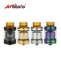Original WOTOFO Serpent SMM RTA Tank 4ml Rebuildable Tank Atomzier 24mm Diameter For Mech MOD Ecig