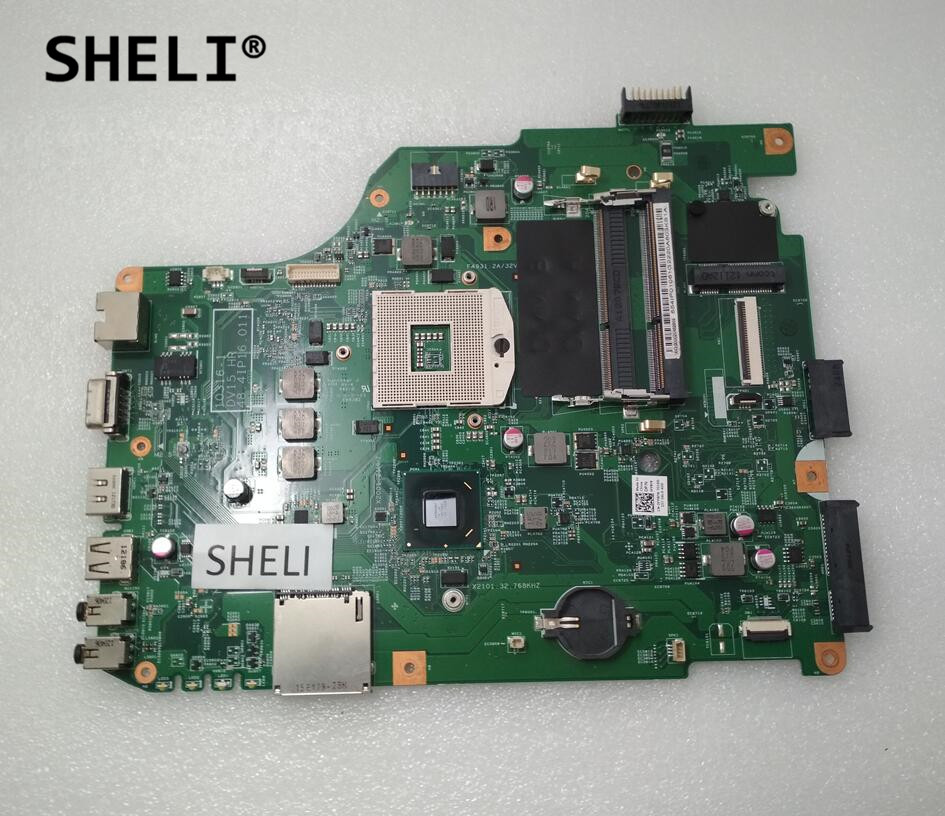 Laptop Motherboard SHELI For DELL Inspiron N5050 Nontebook Pc Mainboard CN-0FP8FN 0FP8FN 10316-1 DV15  48.4IP16.011 HM67 Test Ok