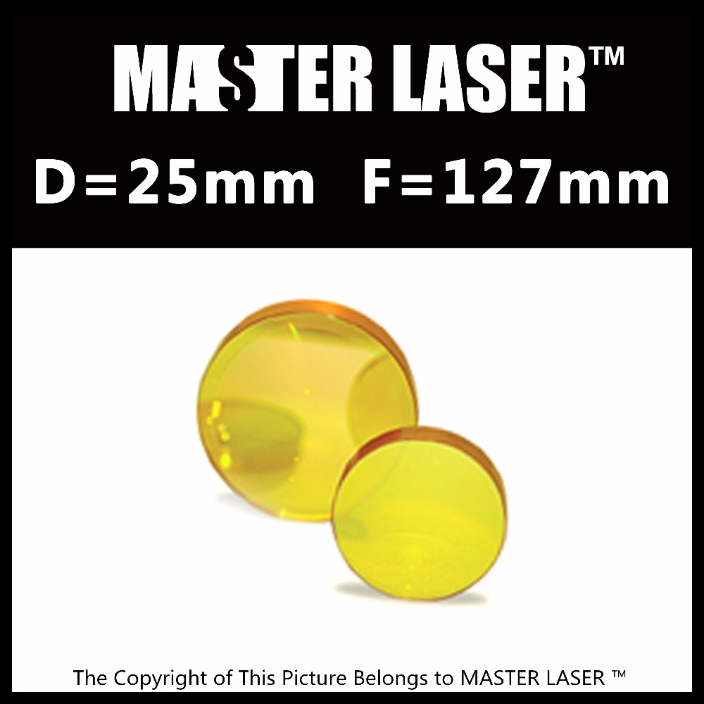 Qualified Products Diameter 25mm FL 127mm CVD ZnSe CO2 Laser Lens Laser Focus Lens for High Power for MDF Laser Cutting Machine cvd znse co2 laser focus lens with diameter 18mm focus length 38 1mm thickness 2mm