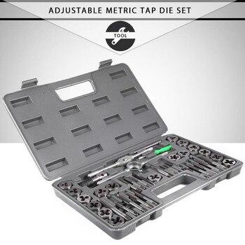 40 шт., регулируемый метрический кран, высокоточный ключ, набор инструментов, кран, метрическое отверстие, резьба, датчик, Gereedschap