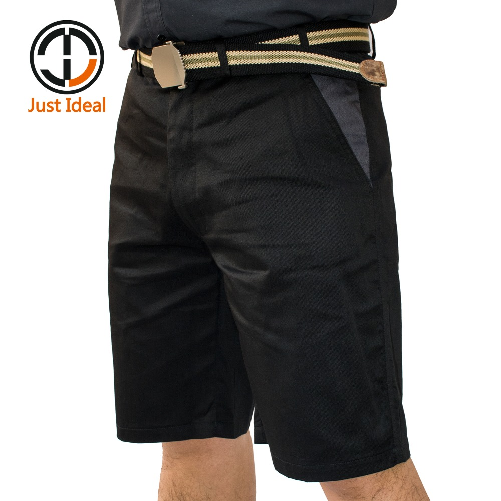 Cargo Shorts Men Casual Work Wear Short Thin Material For Summer Short Pants Male Plus Size Brand Clothing ID605