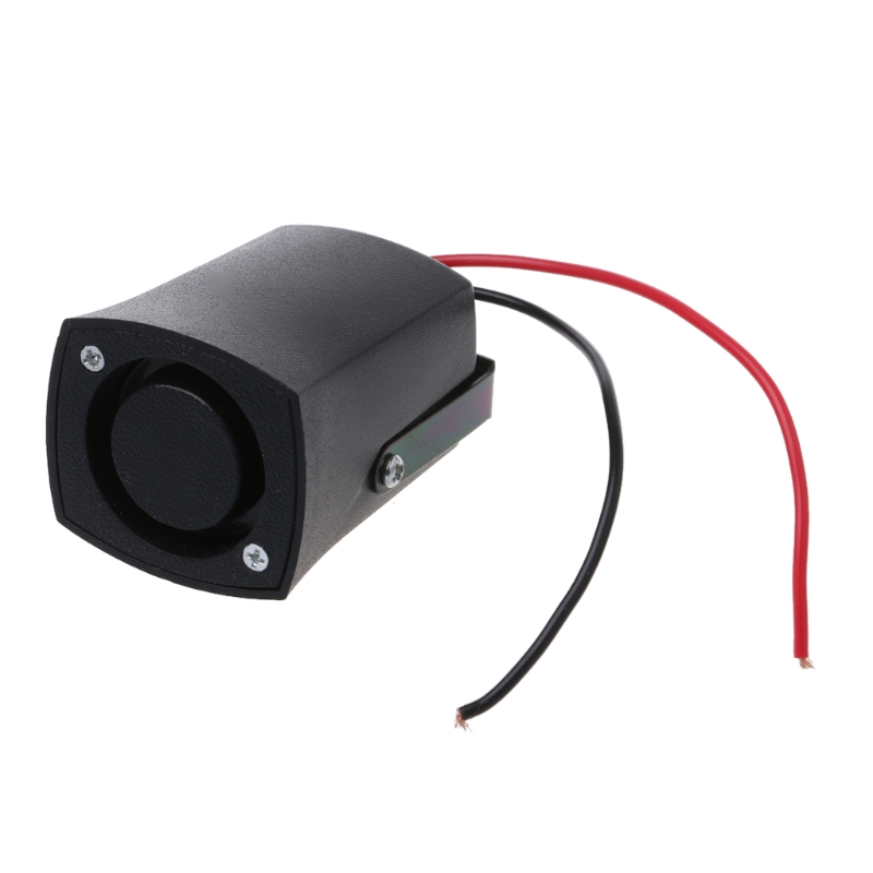 DC 12V Auto Warning Siren Backup Alarms Horns Warning Sound Beep Reverse Siren Slim Invisible Horn Car Accessories