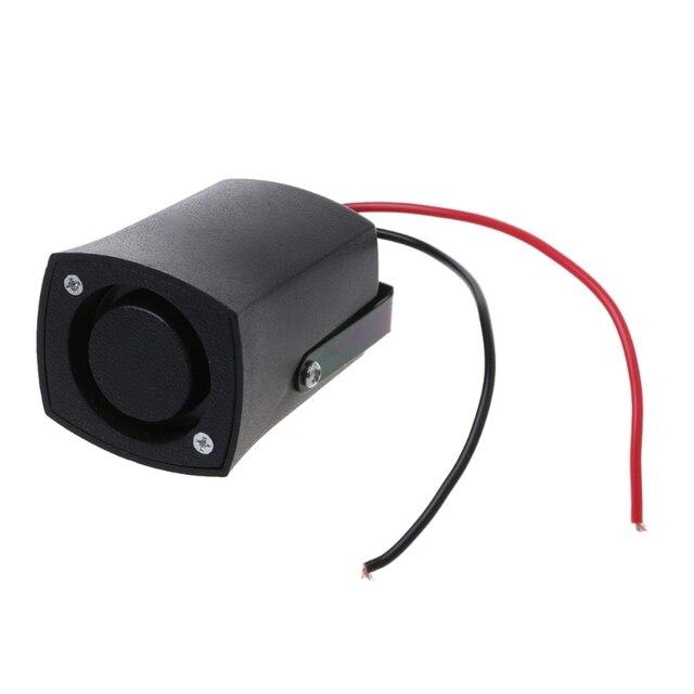 DC 12 V Auto sirena de alarma de seguridad alarmas cuernos sonido de advertencia señal inversa sirena Slim Invisible cuerno accesorios de coche