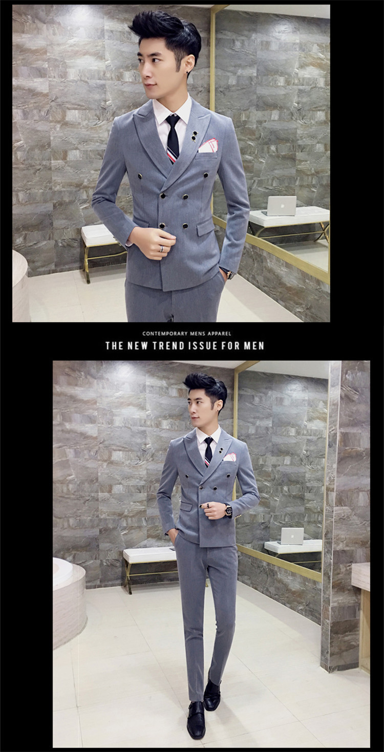 Royal Blue Mens Suits Slim Fit Plus Size 4XL Latest Coat Design ... fd1482b69191