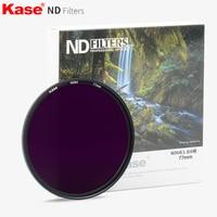 Kase 40.5/43/49/52/55/58/67/72/77/82mm Slim Muti powlekane filtr ND ND1.8 ND64 neutralnej gęstości filtr obiektywu szkło optyczne 6 przystanków w Filtry do aparatu od Elektronika użytkowa na
