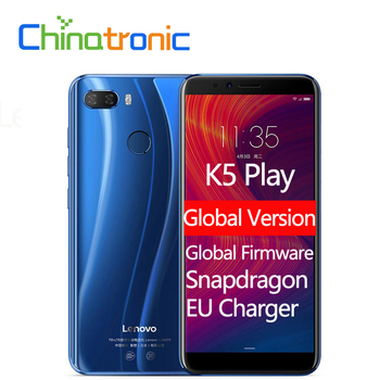 Global Version Lenovo K5 Play L38011 ZUI 3.7 4G FDD LTE Mobile Phone Snapdragon Octa-core Dual SIM 5.7″ Dual camera Fingerprint Lenovo Phones