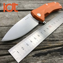LDT KUR Folding Knives Clip Sleipner Blade G10 Handle Knife Ball Bearing Tactical Camping Survival Hunting Pocket Knife EDC Tool