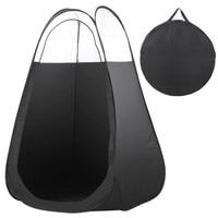 Plus Utile Noir Et Pratique En Plein Air Unique Tentes Photographie De Pêche Toilettes Tente Pop Up Bronzage Haute Qualité En Plein Air Tente