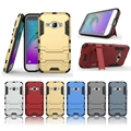 Dual Layers Rugged Hybrid Armor Case for Sumsung Galaxy J1 2016 j120 J120F Cover With Kickstand mobile Phone Accessories