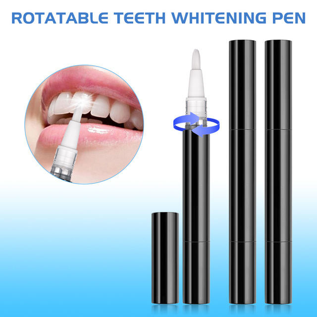 Teeth Whitening Kit with Smart Device Blue LED light for Phone Plug with 3 Gel Pen Portable Tooth Bleaching Accelerator Home Set
