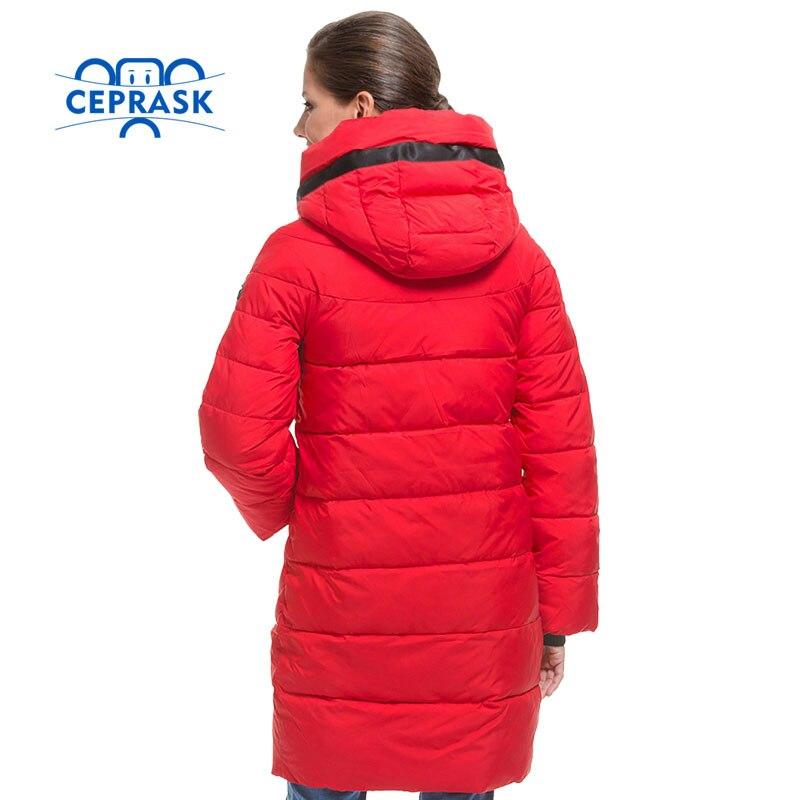 Qualité 2017 Parka Longue Mode Manteau red Femmes Taille Blue Haute Hiver Vers Capuchon waterblue La Bas Ceprask À Le Chaud Veste De Plus wfCqEwd