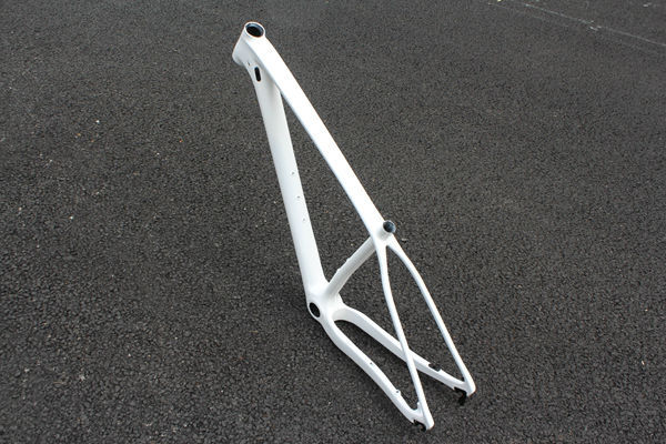 Chinese cheap 100% full carbon CX frame mtb bicycle frame disc brake OEM/ODM design  white colors