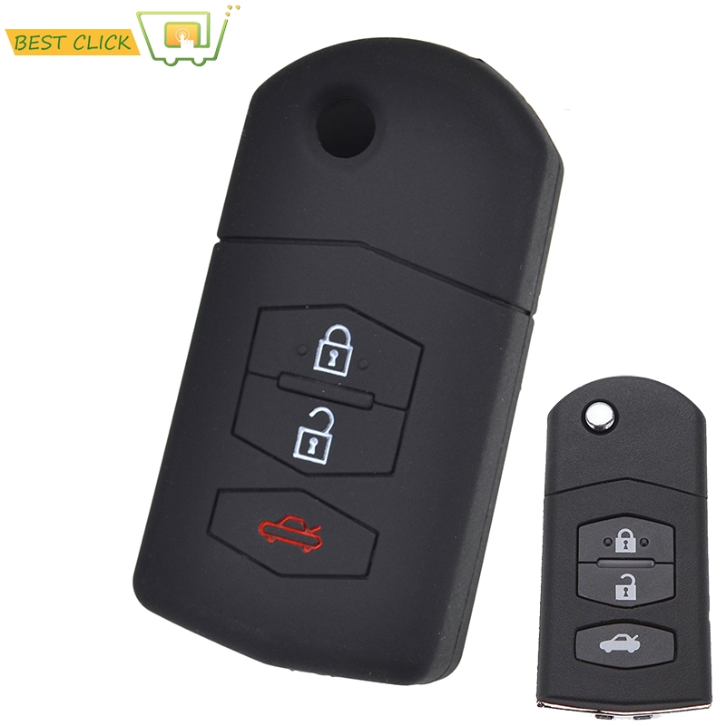 Automobiles & Motorcycles Silicone Key Case Cover For Mazda Demio 2 3 5 6 M3 M5 M6 Cx-5 Cx7 Cx9 Rx8 Mx5 Mpv Keyless Fob Shell Skin Holder Protector Careful Calculation And Strict Budgeting Interior Accessories