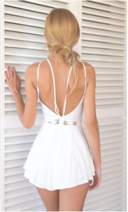 HTB16GS4HpXXXXb XpXXq6xXFXXXV - Women White Cami Playsuit Skirt Shorts JKP185