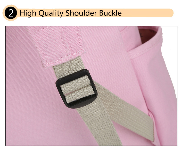 Cute Cat Print Backpack High Quality Buckle