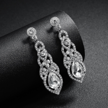 3f610132a Buy rhinestone pageant earrings and get free shipping on AliExpress.com