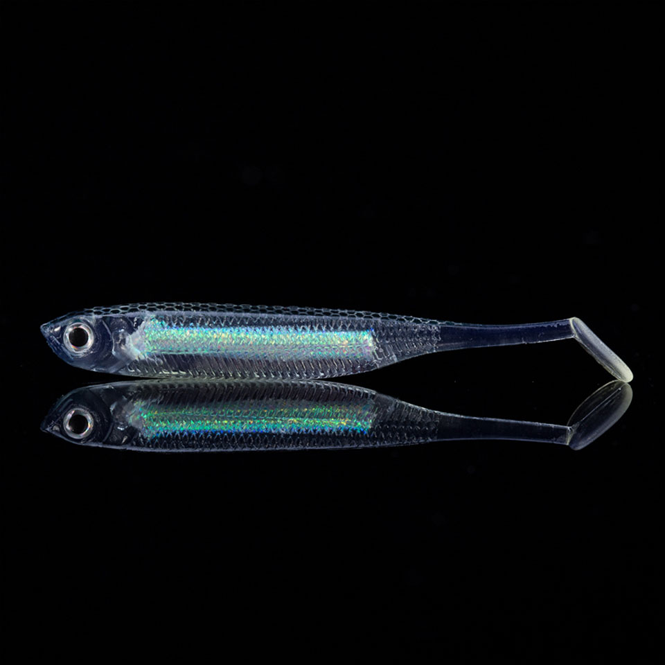 WALK FISH 6PCS/Lot 2.2g/70mm Soft Lure for Fishing Shad Fishing Swimbaits Jig Head Soft Lure Fly Fishing Bait Paddle Tail Lures 1pcs 3d eyes long tail luminous soft fishing lure abdomen open hook soft bait 12 5cm 6g jig head soft lure fly fishing baitt