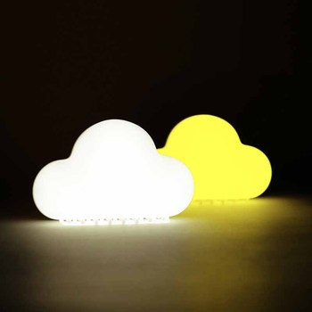 LED Nursery Night Lights for Kids: Baby Girl Gifts Night Light Sound Switch Clouds Lamp Bathroom,Children's room Decoration