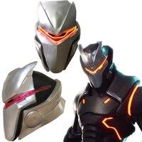 Game Adult Kids Omega Oblivion link Latex Mask Helmet Halloween Cosplay Costumes Led Masks Props