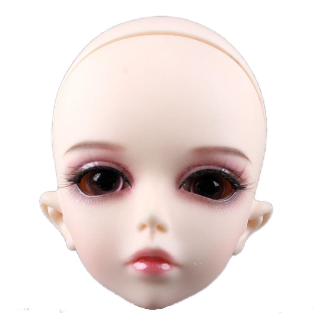 1/4 BJD Dollfie Girl Doll Parts Single Head ( Include Make-up)Shang Nai~In Stock [wamami] aod 1 6 bjd dollfie girl doll parts single head not include make up ni ni