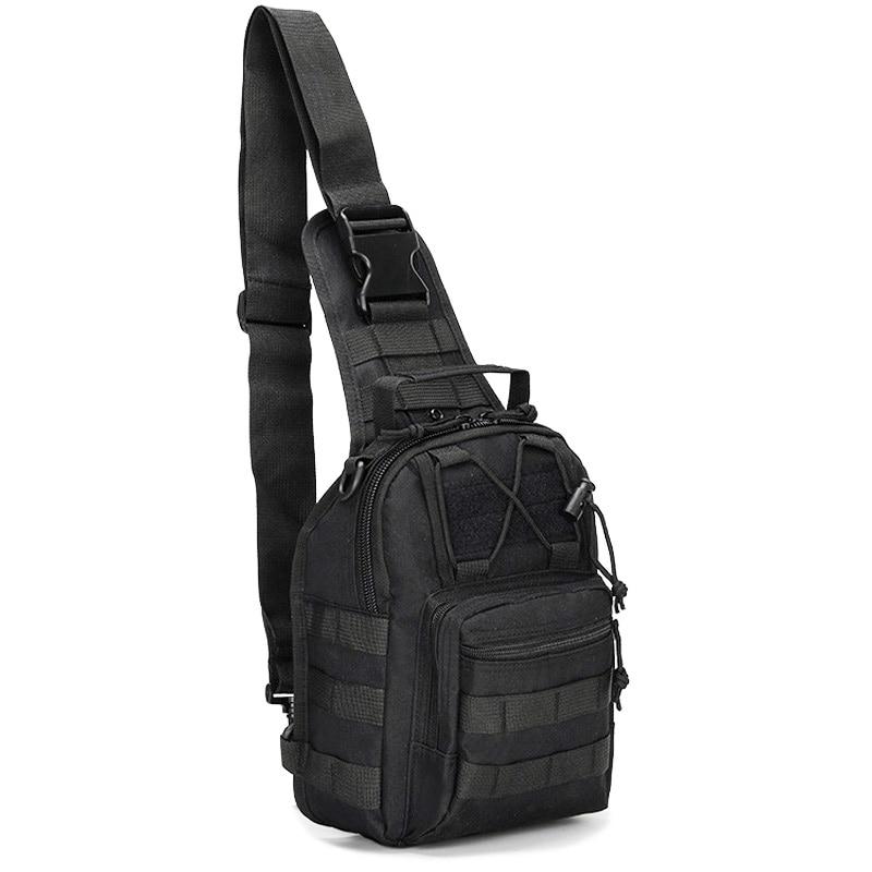 Tactical Messenger Bag Military Sling Shoulder Pack Backpack Hiking Camping