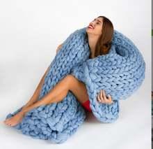 Fine joy мягкое толстое новое зимнее теплое одеяло ручное покрывало