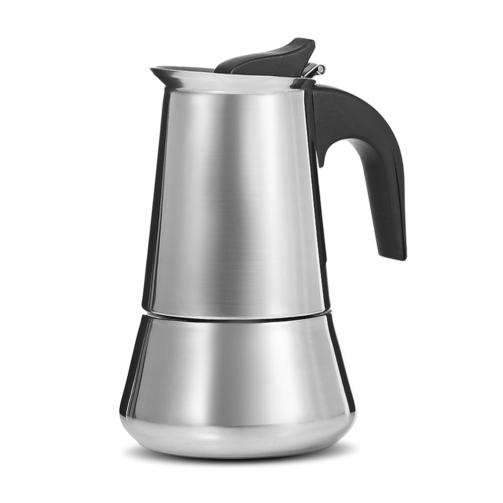Stainless Steel Moka Coffee Pot Coffee Maker Stovetop Espresso Maker 2017 New Arrival Coffee Makers Espresso Machines With Filt automatic capsule coffee makers machines espresso