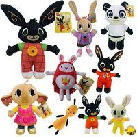 Банни-флоп Сула пандо плюшевый ежик милый кролик Банни мягкие игрушки для детей Рождественский подарок кукла
