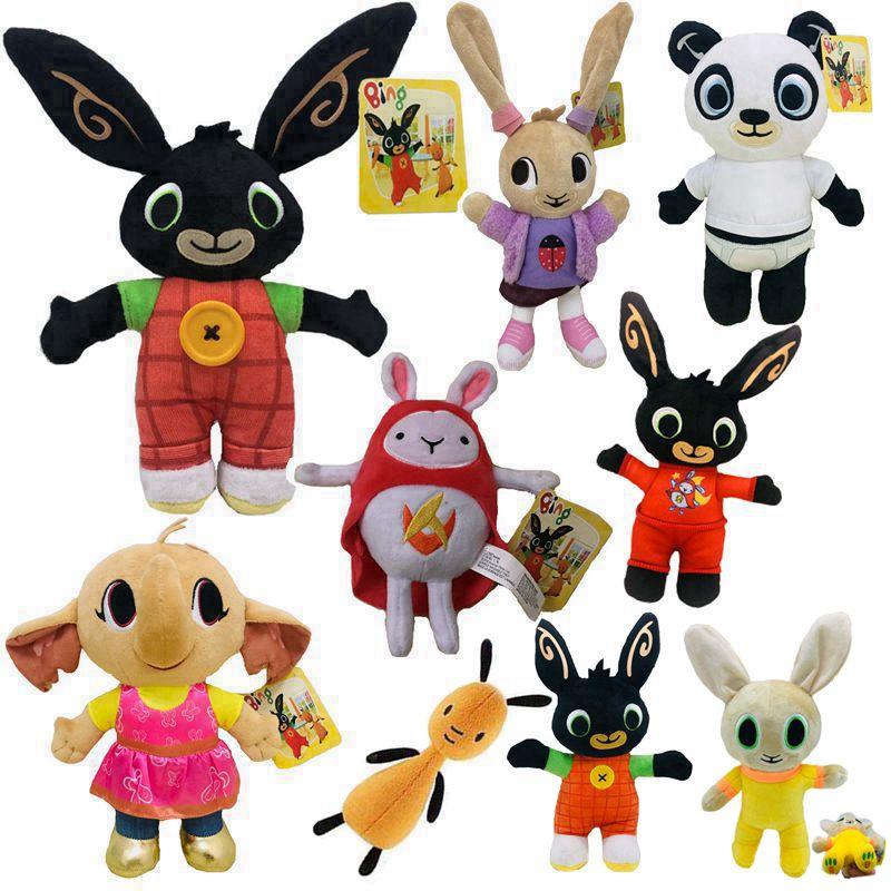 Bing Bunny Flop Sula Pando Plush Hedgehog Cute Rabbit Bunny Stuffed Animals Toys For Children Christmas Gift Doll