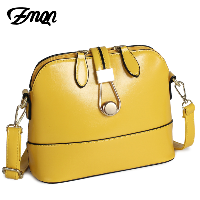 ZMQN Women Messenger Bags Leather Shell Bags Small Lady Yellow Fashion Cross Body Cute Bag for Women lovely Girls Side Sac A534 2017 new simple mini women shoulder bag fashion chain messenger bags high quality pu leather cross body for lady small bag