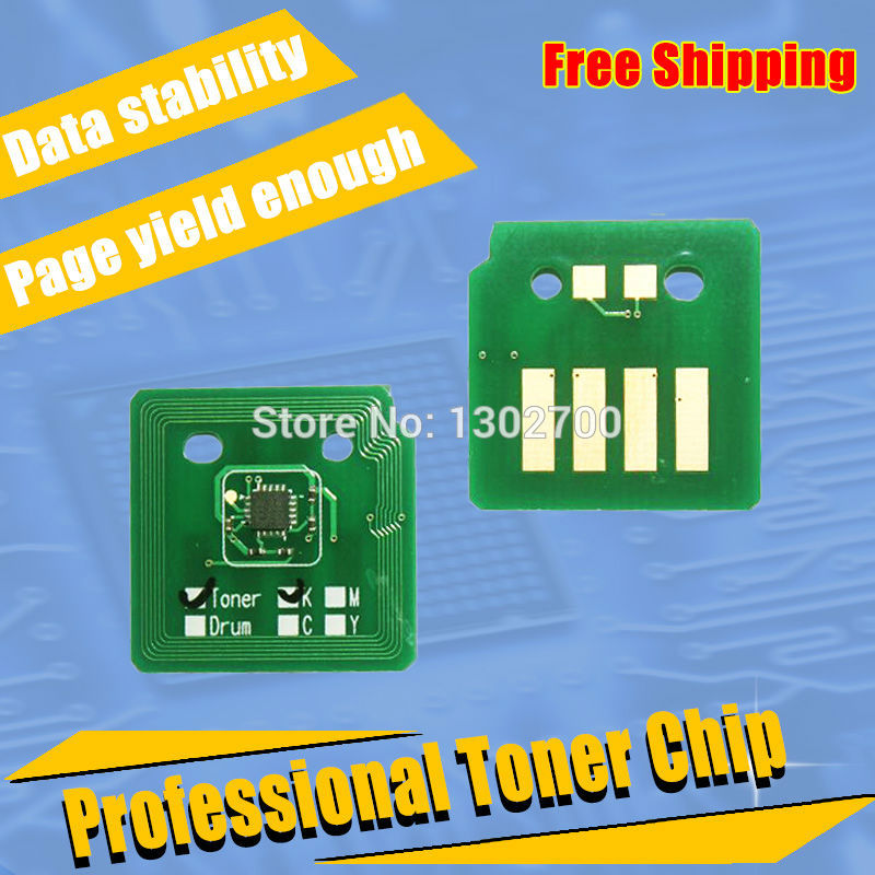 593-BBCQ 593-BBCY 593-BBCM 593-BBCO Toner Cartridge chip For Dell Colour Cloud Multifunction C7765 7765 powder refill resetter smart color toner chip for dell 1230 1235c laser printer cartridge reset chip