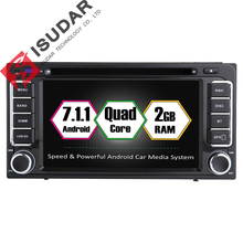 Android 7.1.1 Two Din 6.2 Inch Car DVD Player For Toyota/Corolla/Subaru/Forester/Impreza RAM 2G WIFI GPS Navigation Radio Maps