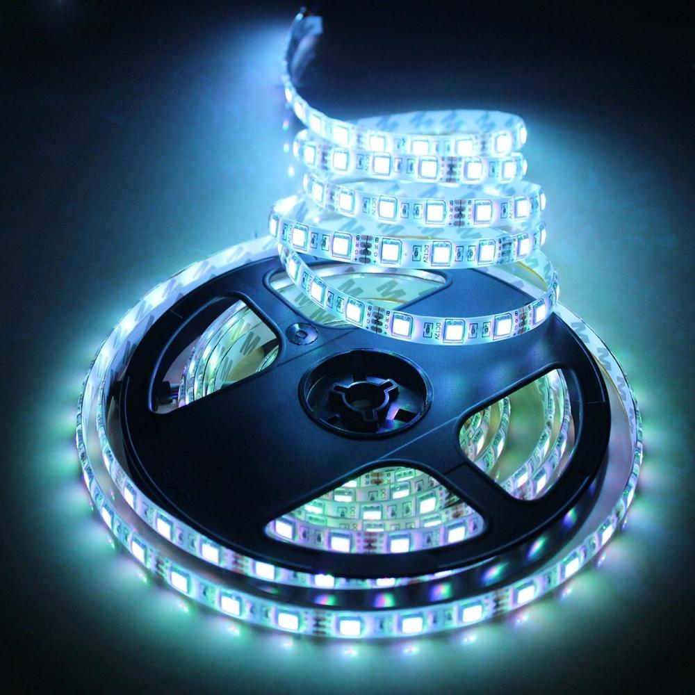 LAIMAIK Waterproof LED strip IP65/IP20 LED tape 300 LEDs / 5M String light DC12V SMD5050 RGB flexible light Decoration lamp Tape