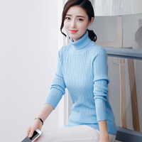 New Fashion High Collar Knitwear Women S Slim Pullover Twisting Genuine Cashmere Sweater Knit Shirt Couple