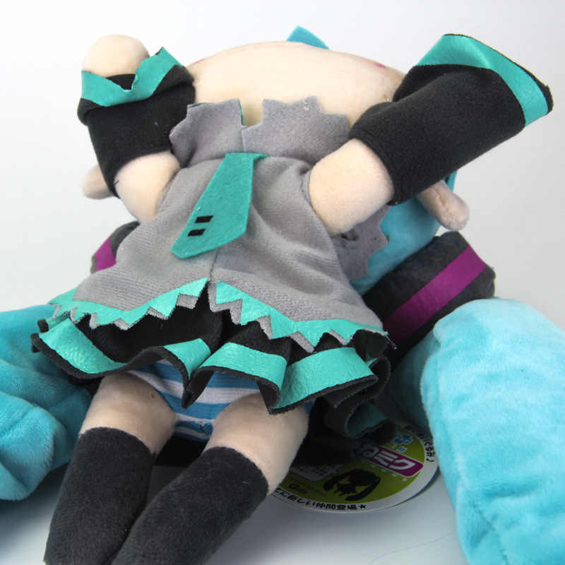 Anime bonito hatsune miku adulto chinelos de pelúcia brinquedos macios travesseiro boneco de pelúcia bonecas cosplay meninas crianças presentes aniversário