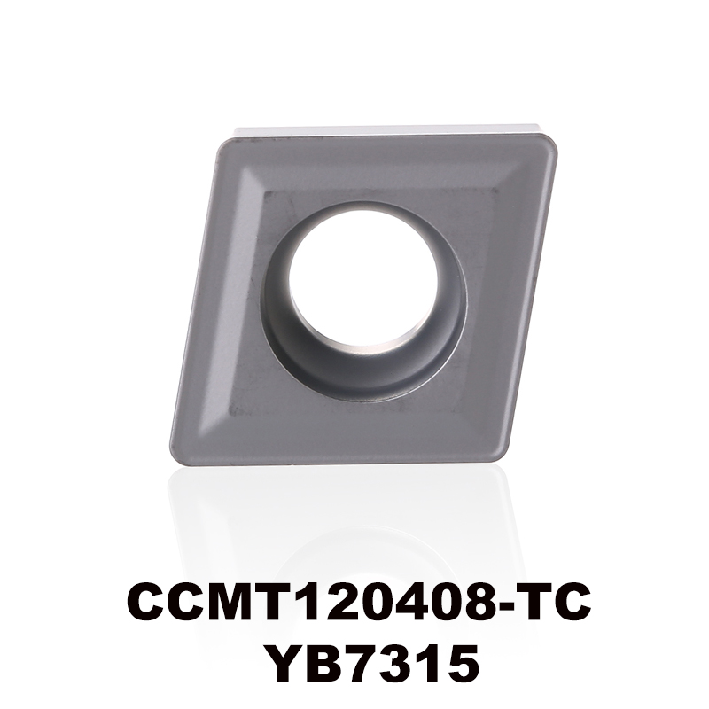 CCMT120408-TC YB7315 for K type material tungsten carbide turning insert CNC tool CCMT120408 <font><b>CCMT</b></font> <font><b>120408</b></font> CCMT432 image
